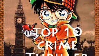 Top 8 Crime & Thriller Anime | AD TV