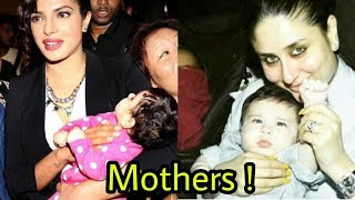 10 Bollywood Actresses who are Hottest mothers in Real Life !