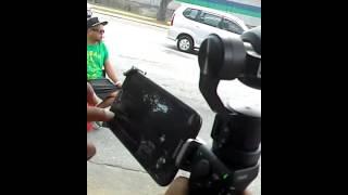 Mr Boss Miss Stalker try camera OSMO