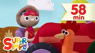 10 Little Tractors | + More Kids Songs | Super Simple Songs