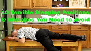 10 Terrible Sleeping Positions & Mistakes You Need to Avoid.