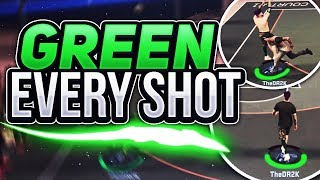 GREEN RELEASE ON EVERY SINGLE SHOT!! THE BEST JUMPER IN THE GAME!! NBA2K17 MYPARK