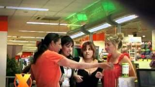 Xarabank Feature - Candid Camera f'Supermarket