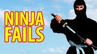 Ninja Fails Compilation 2017 | Funny Nunchucks Fail