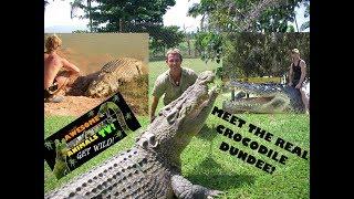 The REAL Crocodile DUNDEE!