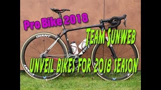Team Sunweb unveil bikes for 2018 season
