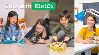 Grow with KiwiCo | Monthly Science & Art Projects for Kids of All Ages