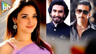 Ranveer Singh Date | Akshay Kumar Movie | HOT Prabhas & Rana | Rapid Fire With Tamannaah Bhatia