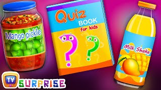 Surprise Learning Toys - Learn Mango Fruit for Kids - ChuChu TV Surprise Eggs Learning Videos