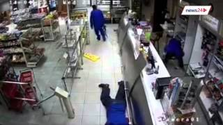 WATCH: Armed robbers bomb Pretoria petrol station ATM