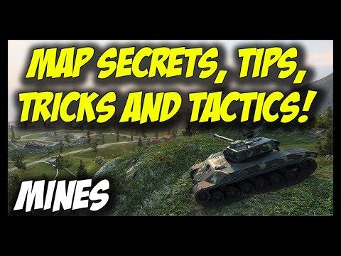 ► World of Tanks: Map Secrets, Tips, Tricks and Tactics - MINES