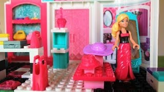 Mega Bloks Barbie Fashion Boutique Barbie Doll Life in a Dream House