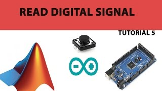 5. How to read Digital signal In Arduino with Matlab simulink