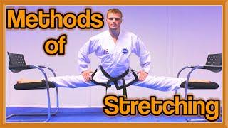 Methods of Stretching (Get High Kicks/Splits) | GNT