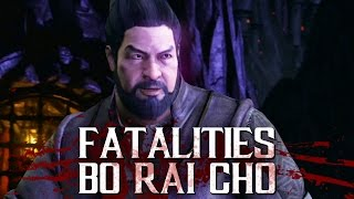 Mortal Kombat XL: Bo Rai Cho Gameplay (Fatalities y X Ray)