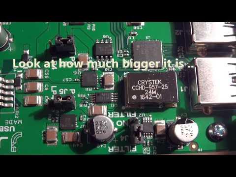 Xxx Mp4 JCat Femto USB Card Unboxing Video Magic For An Audio PC Music Server 3gp Sex