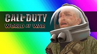 Moon Zombies! (Call of Duty WaW Zombies Custom Maps, Mods, & Funny Moments)