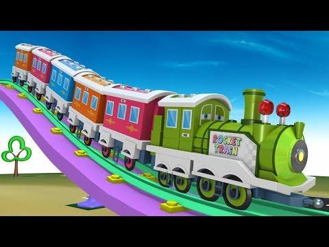 Cartoon For Kids - Thomas The Train - Trains for Kids - Choo Choo Train - Toy Factory - Trains