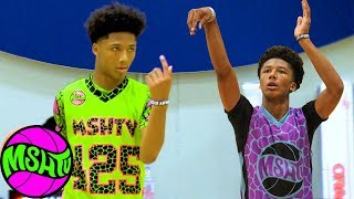 Mikey Williams vs High Schoolers - #1 8th Grader ELEVATES his GAME at MSHTV Camp