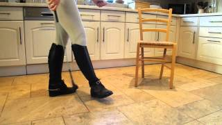 Wheres my bootlicking boot slave? My Riding Boots are filthy.