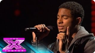 Arin Ray Sings for Survival - THE X FACTOR USA 2012