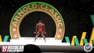 2016 Arnold Australia Posing Routine - Kai Greene
