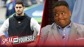 Jimmy G's lottery contract might bankrupt him as a franchise QB -Whitlock   NFL   SPEAK FOR YOURSELF