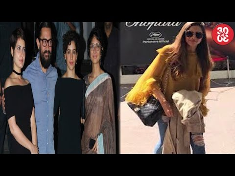 Kiran Rao Reacts On Aamir's Involvement In Fatima's Casting | Deepika Keeps It Stylish At Cannes