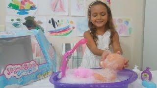 yağmur bebek banyo seti oyuncak kutu açımı,baby doll banyo yaptırma oyunu, eğlenceli çocuk videosu