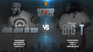 JOHN JOHN DA DON VS BIG T SMACK/URL RAP BATTLE | URLTV