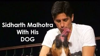 Exclusive - Visit to Sidharth Malhotra's house