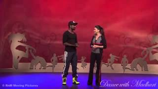 Remo D'souza at Dance With Madhuri