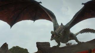 Daenerys Targaryen's Dragons (Games of Thrones Season 7)