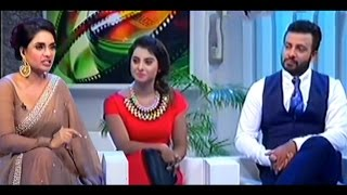Superstar Shakib Khan & bubly Attend Eid TV Program  About Promotional Movie Bossgiri and Shooter