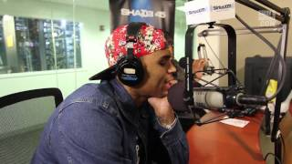 Chris Brown Freestyes over Drake's _Started From the Bottom_
