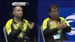 TOTAL BWF Thomas & Uber Cup Finals 2016 | Badminton QF/S1-Thomas Cup - TPE vs MAS (Court 2)