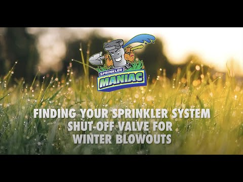 Prep Your Sprinkler System for Blowout Winterization Sprinkler Maniac Missoula MT