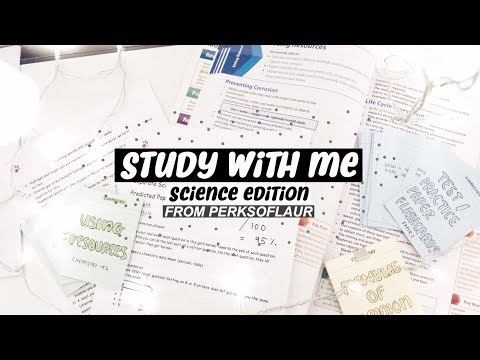 Xxx Mp4 Study With Me How I Am Revising Science As A Year 11 Student From Perksoflaur 3gp Sex