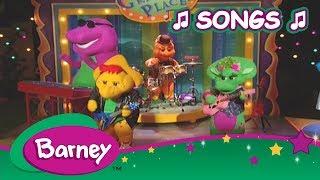Barney 🎵 Little Red Rockin' Hood Songs (1 hour) 🎵