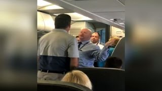 'Hit me': American Airlines worker challenges passenger in fight over stroller