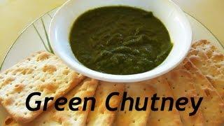 Green Coriander Chutney / ধনেপাতা চাটনী (Dhonepata Chatni) [English Subtitles]