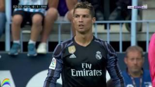 اهداف ريال مدريد وملقا 1-0 | شاشة كاملة | الشوط الأول