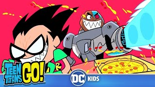 Teen Titans Go! | Food Fight