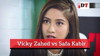 Vicky Zahed vs Safa Kabir