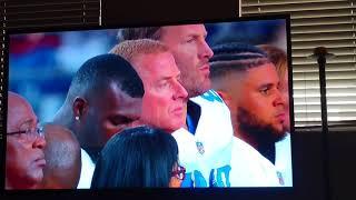 Cowboys @ Cardinals MNF National anthem