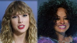 Taylor Swift SLAMMED For Message To Diana Ross At The 2017 AMAs