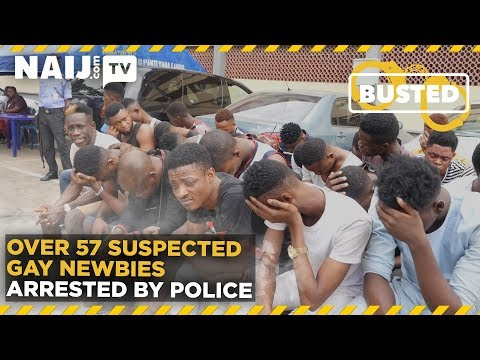 Xxx Mp4 Nigeria Latest News Over 57 Suspected Gay Newbies Arrested By Police Legit TV 3gp Sex