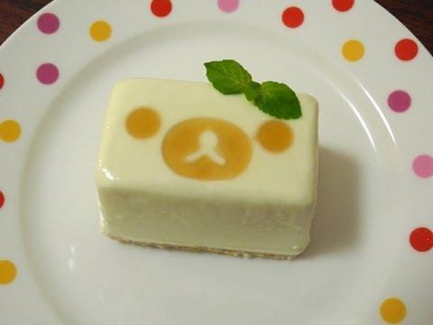 Rilakkuma 「Tofu cheese cake ice」 リラックマ 「豆腐チーズケーキアイス」
