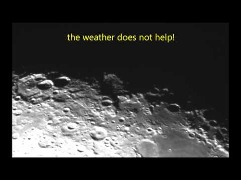 ufo at a magnification never seen before using a celestron C14 telescope
