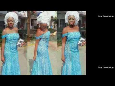Lovely 2017 African Dress Styles - Ankara Aso EBI Fashion Ladies